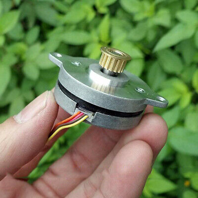 0.9 Degree 36MM Round Thin 2-phase 4-wire Precision Stepper Motor Copper Pulley