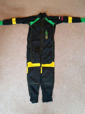 Skydiving Vertex Jumpsuit FF RW yellow green black Skydive Suit large medium