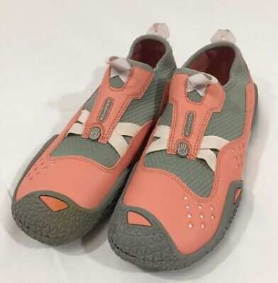 600d6f8ac Teva Proton Womens Water shoes Slip On Coral Gray Size 7 Swim Sport Spider  Sole