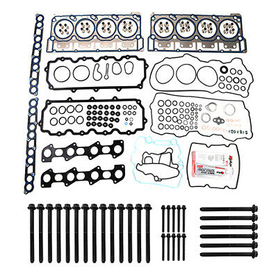 HEAD GASKET BOLTS SET MLS HEAD GASKETS For 03-10 FORD 6.0L DIESEL TURBO VIN P