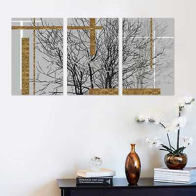 Abstract Arborization Canvas Painting Picture Wall Art Home Room Decor Unframed