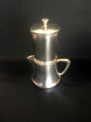 French Antique C.C. Christofle Coffee Filter & Pourer 1870-1890