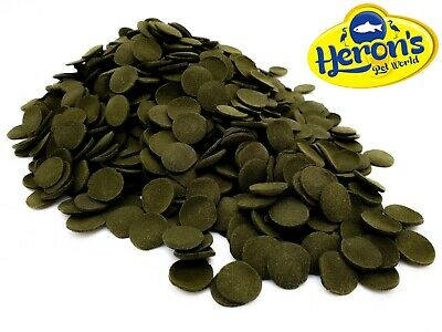 HERONS Pleco Algae Wafers PLECO SUCKERMOUTH CATFISH Premium Tropical Fish Food