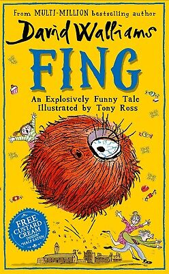 Fing by David Walliams Hardcover Book NEW