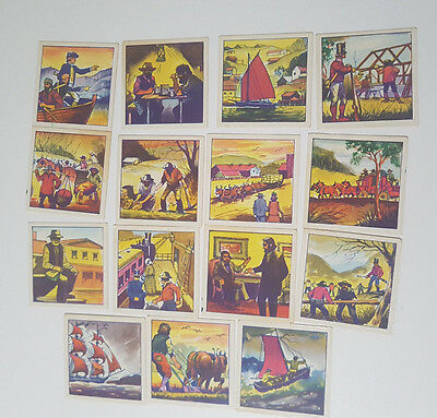 Vita Britz Cards 15/24 Cereal Cards Colonisation Australia Paths Of The Pioneer