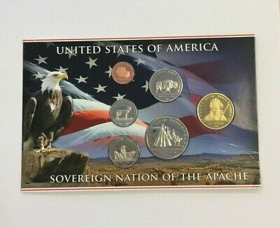 Apache 2016 Native American Coin Set Damaged Packaging