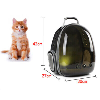 Cat Carrier Bubble Backpack Small Dog Space Capsule Knapsack Pet Travel Bag
