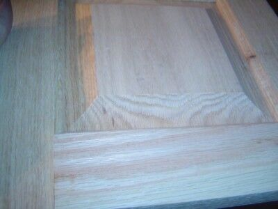 13H x 16W Unfinished Oak Arch Top Cabinet Door by Kendor