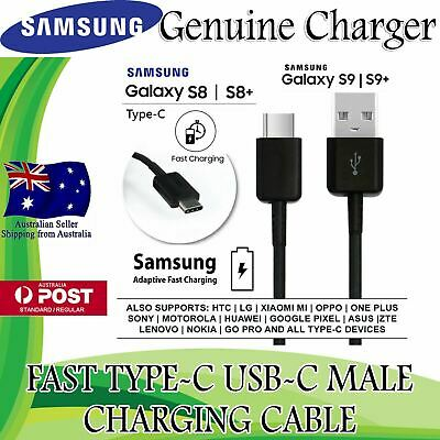 GENUINE Samsung Galaxy Note 9 Note 8 Type C USB Sync Charger Charging Fast Cable