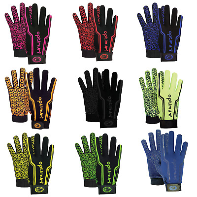 Rugby Gloves Optimum Velocity Thermal Mitts Anti Slip  ADULT AND JUNIOR