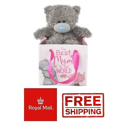 Me to You Best Mum in the World Mothers Day Present 5 inch Bear Tatty Teddy Box