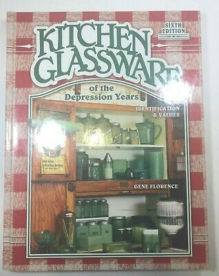 "Reference Book ""Kitchen Glassware Of Depression Years"" By Florence Reduced"