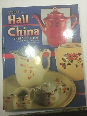 """Reference Book """"hall China"""" By Whitmyer, Identification & Prices 2001"""