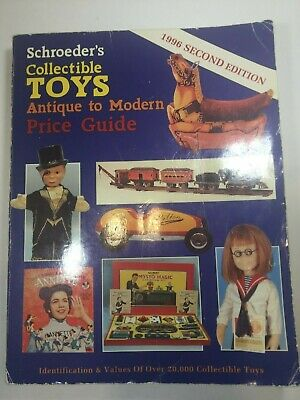 "Reference Book ""collectible Toys"" By Florence  Price Guide, 1996 Antique -Modern"