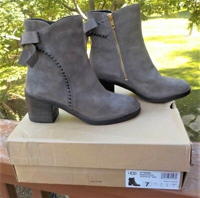 f93a674518a UGG WOMEN'S FRAISE Whipstitch Boot Mouse Size 9 M - $132.98 | PicClick