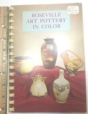 "Reference Book ""roseville Art Pottery In Color"" By Purviance & Schneider 1970"