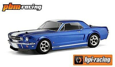 HPI Racing 1966 Mustang GT Clear Touring Car Body 200mm - 104926