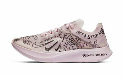 df26f7541a14 Nike Zoom Fly SP Fast X Nathan Bell Pink Foam Black Men Running Shoes  AT5242-