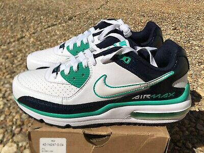 new product 1acf2 ce113 NEW Nike Air Max Wright Men s 8.5 Shoes White Obsidian Blue Teal 317551-134