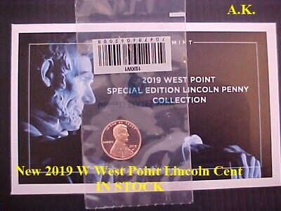 New 2019 W West Point Lincoln Cent  (IN STOCK)