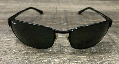 7f2957de2b RAY BAN RB 3269 006 63  18 3N Black Sunglasses (Made In Italy ...