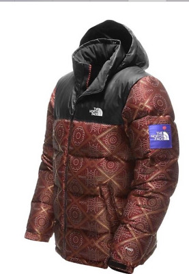 3ca8a89f4 NWT MENS THE North Face Nordstrom Nuptse Jacket Red Olivia Kim Jacquard XL