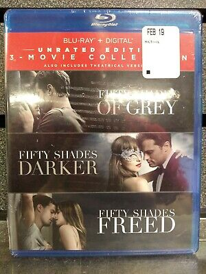 Fifty Shades | 3 Movie Collection | BluRay/Digital | NEW