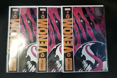Venom #11 (2019) Gibbons Watchmen Variant Cover Dylan Brock Marvel (3 Copy Lot)
