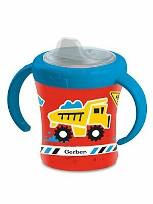 Gerber Graduates Advance 2 Piece With Seal Zone Insulated Cup Like Rim Sippy Cup