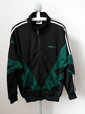 Vintage Retro ADIDAS Originals Tracksuit Top Jacket Retro Large L