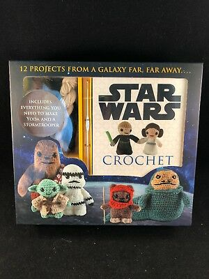 Star Wars Crochet DIY Kit by Lucy Collin Yoda and Stormtrooper + More 2015
