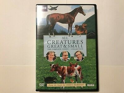 All Creatures Great and Small The Complete Series 1 Collection (4-DVD Set)