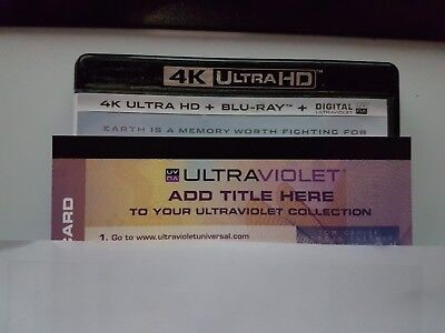 Oblivion - Ultraviolet Code from a 4k UHD Bluray