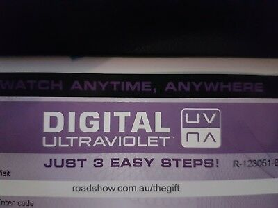 The Gift - Ultraviolet Code from a Bluray