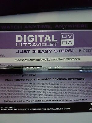 A walk amongst the Tombstones - Ultraviolet Code from a Bluray