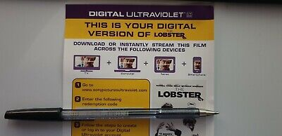 The Lobster - Ultraviolet Code from a Bluray