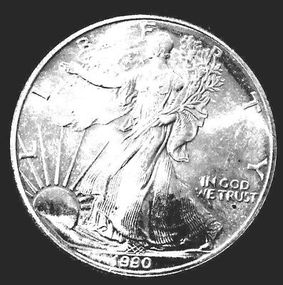 Special !!    1 oz Silver American Eagle-BU++ dated 1990.  Add SH&I to orders.