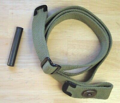 USGI WWII .30 M1 CARBINE Lt OD SLING and OILER New