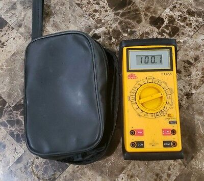 NICE Mac Tools ET955 Digital Multimeter DVOM with Soft Case FREE SHIPPING!