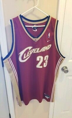 NIKE Cleveland Cavaliers Cavs  23 Sewn Lebron James Swingman 3xl Throwback a19524363