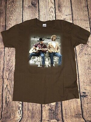 a1a70fb14 VTG 90S BROOKS & DUNN If You See Her country music Tour T-Shirt XL Single  Stitch