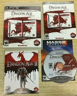 Dragon Age: Origins -- Ultimate Edition (Sony PlayStation 3, ps3) COMPLETE
