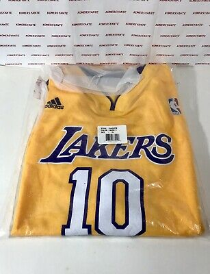 cd3b6019dc5 NWT ADIDAS NBA Replica Jersey STEVE NASH Los Angeles Lakers Youth X-Large  18