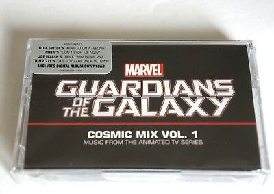 GUARDIANS OF THE GALAXY Cosmic Mix Vol. 1 NEW Factory Sealed Cassette with Label