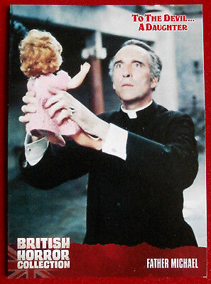 BRITISH HORROR COLLECTION - To The Devil A Daughter - FATHER MICHAEL - Card #47