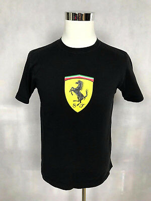 7e61d4002e36 Scuderia Ferrari Official Mens F1 Formula One Racing Supporter T-Shirt Tee  Small