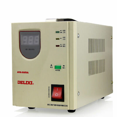 Delixi voltage stabilizer automatic Household TV PC Refrigerator AC regulator