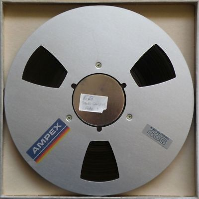 """EUROVISION SONG CONTEST 1983 AUDIO MASTERING 10.5"""" TAPE REEL 1 of 2 AMPEX 406"""