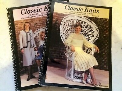 Bk25 Brother Knitting Machine Electroknit Patterns X 4 Stitchworld Vol 1 Books