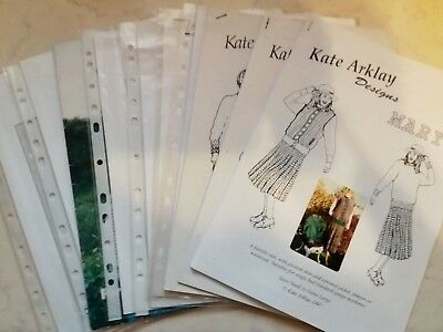 Bk35 Lot Brother Silver Reed Knitting Machine Books Patterns Designs Manuals X10